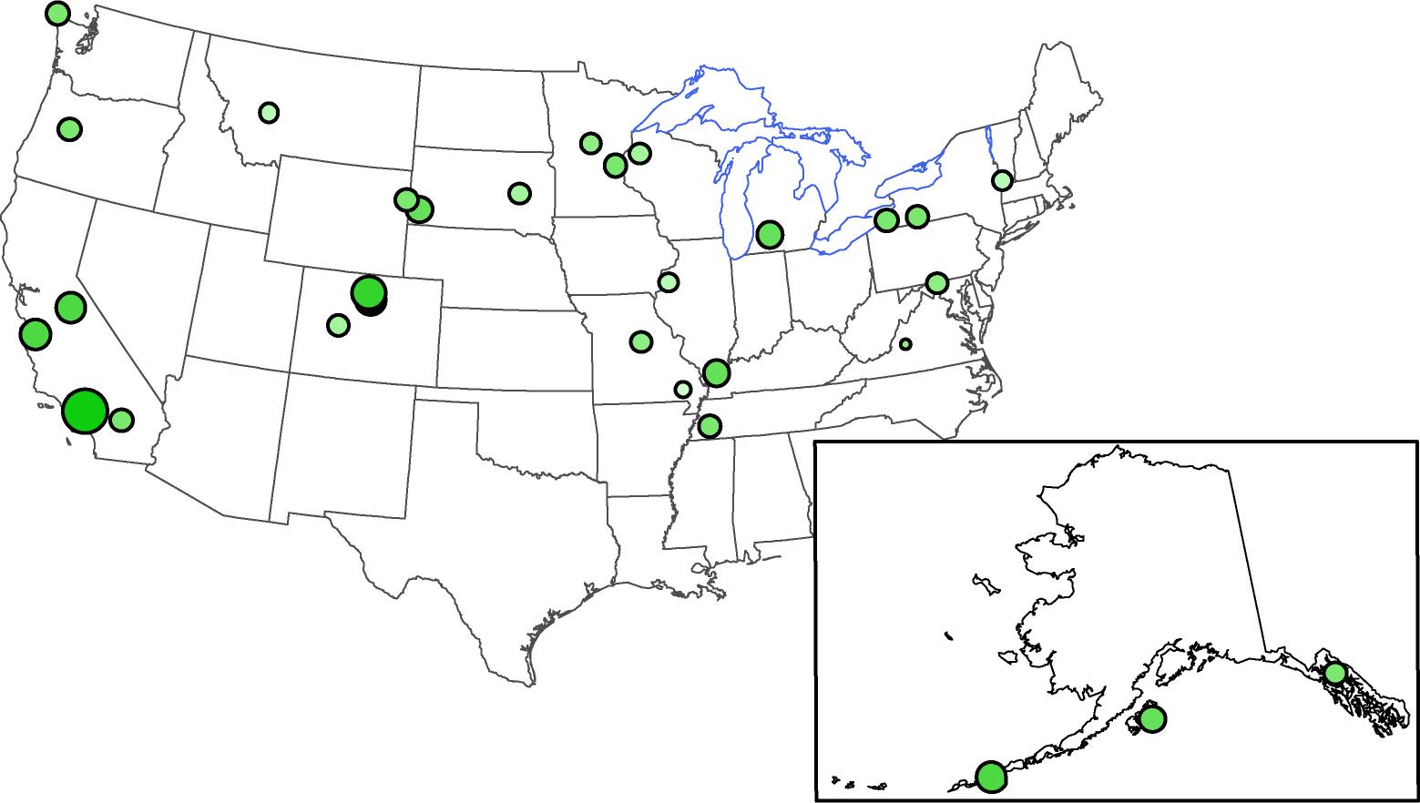 USGS Measures Fallout from Fukushima in US NADP Precipitation Samples